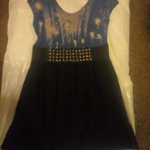 Subtle punk rock dress
